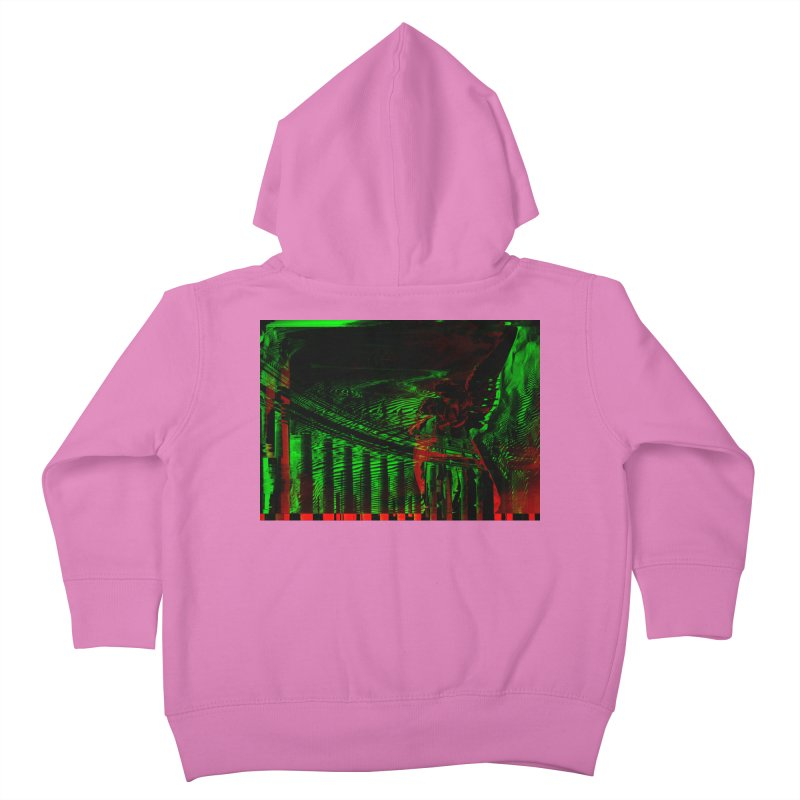 Angels and Pillars Kids Toddler Zip-Up Hoody by radesigns's Artist Shop