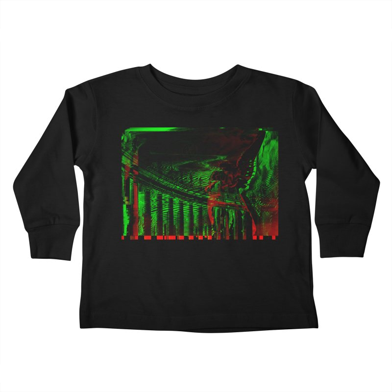 Angels and Pillars Kids Toddler Longsleeve T-Shirt by radesigns's Artist Shop
