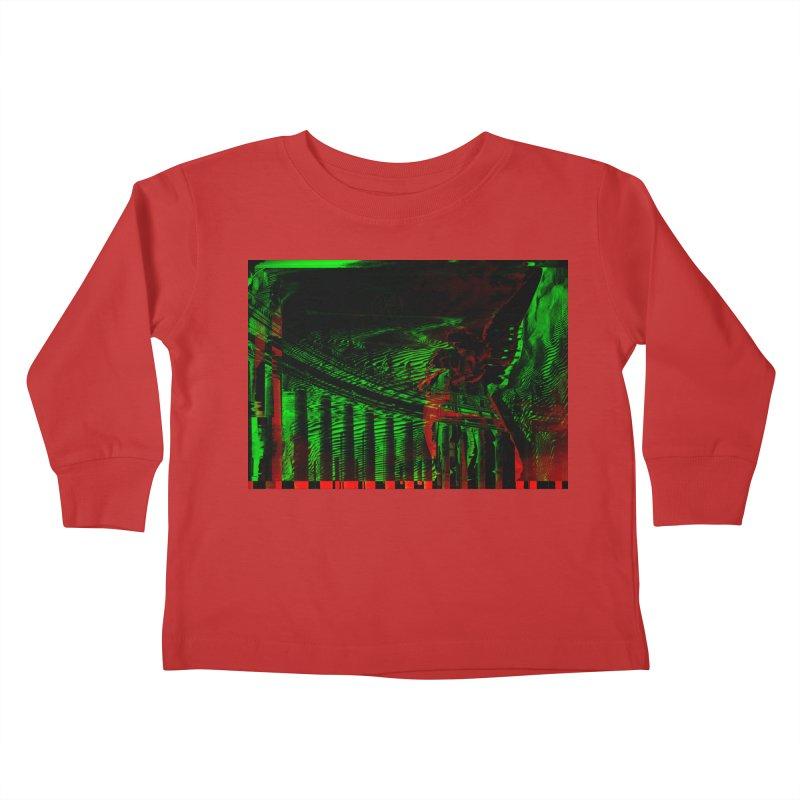 Angels and Pillars Kids Toddler Longsleeve T-Shirt by radesigns's Artist Shop