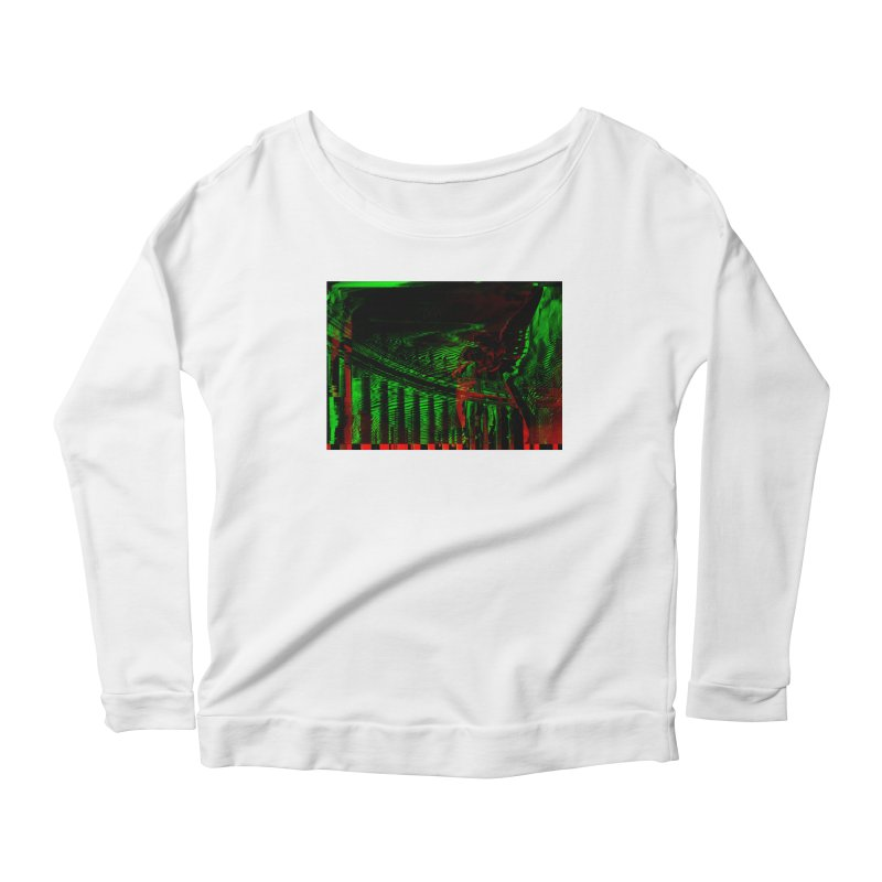 Angels and Pillars Women's Longsleeve Scoopneck  by radesigns's Artist Shop