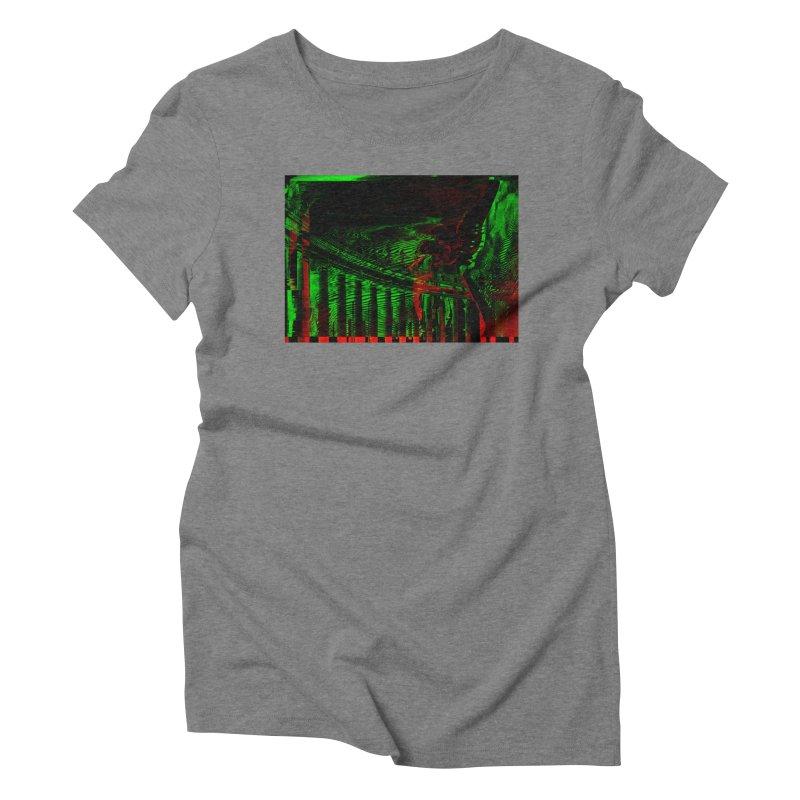 Angels and Pillars Women's Triblend T-Shirt by radesigns's Artist Shop