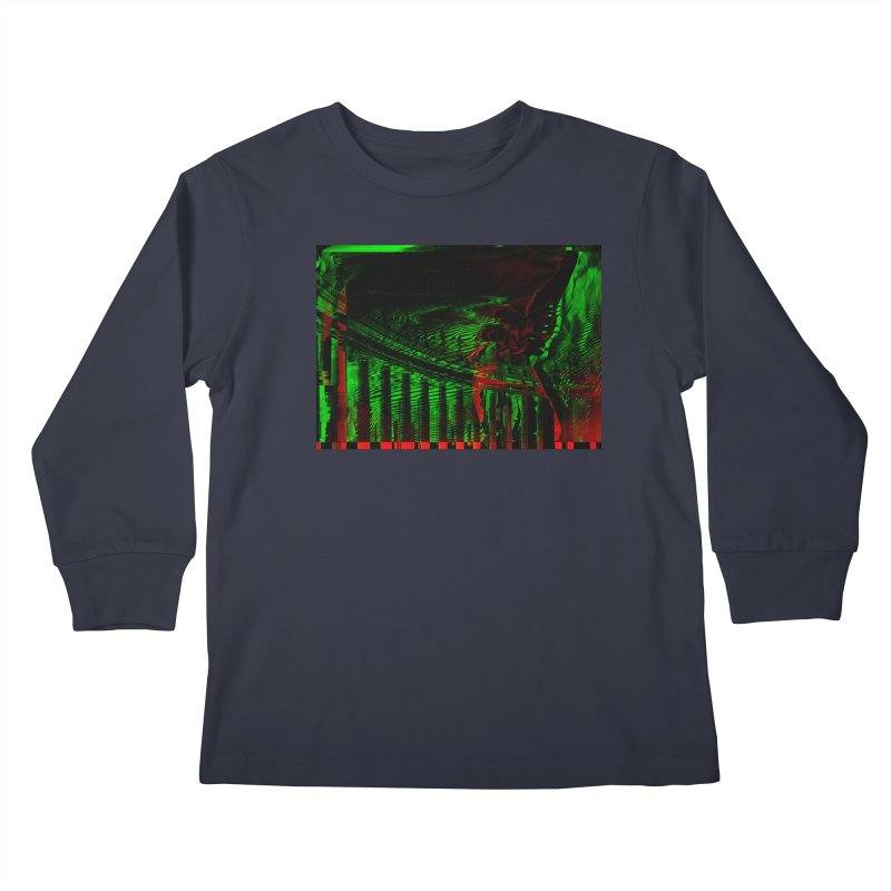 Angels and Pillars Kids Longsleeve T-Shirt by radesigns's Artist Shop