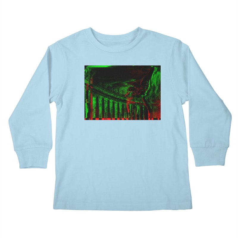 Angels and Pillars Kids Longsleeve T-Shirt by radesigns's Artist Shop
