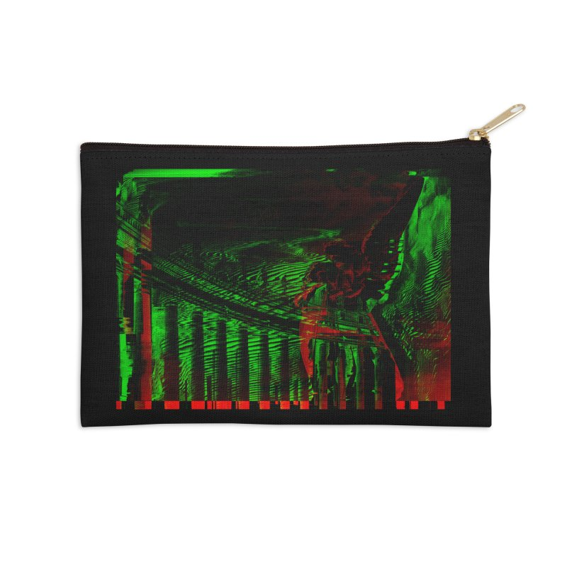 Angels and Pillars Accessories Zip Pouch by radesigns's Artist Shop