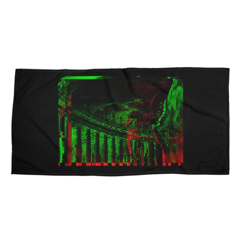 Angels and Pillars Accessories Beach Towel by radesigns's Artist Shop