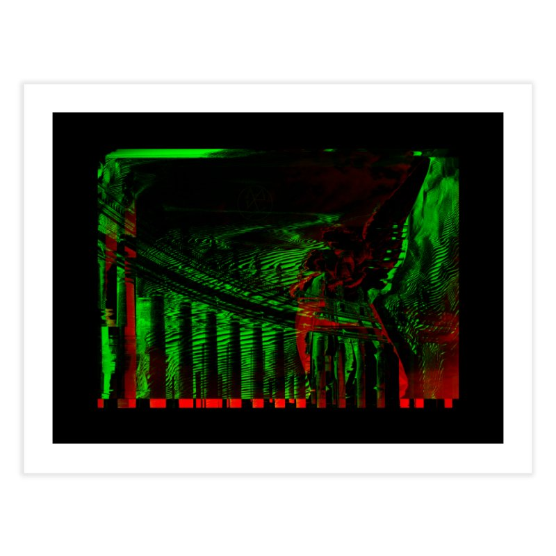 Angels and Pillars Home Fine Art Print by radesigns's Artist Shop