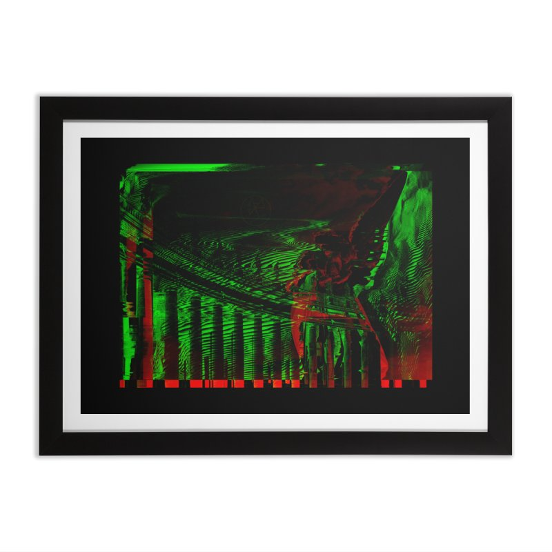 Angels and Pillars Home Framed Fine Art Print by radesigns's Artist Shop