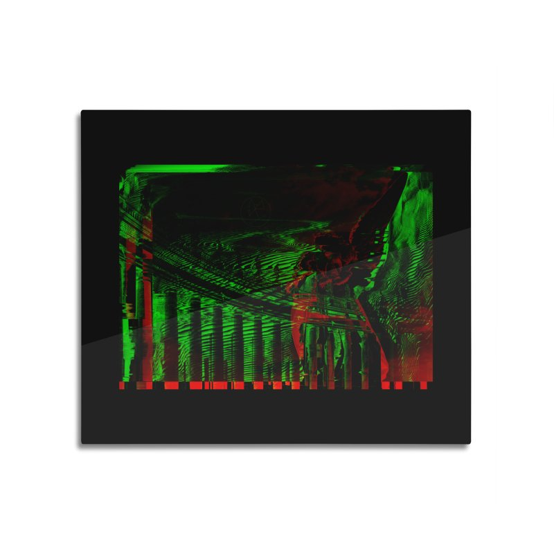 Angels and Pillars Home Mounted Aluminum Print by radesigns's Artist Shop