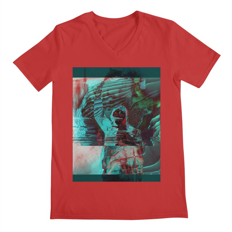 Revolutionary Saint Men's V-Neck by radesigns's Artist Shop