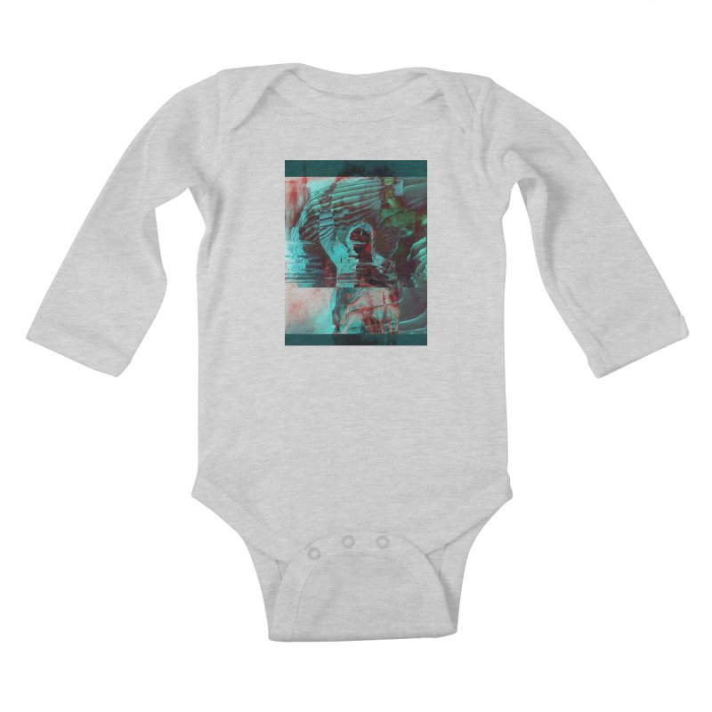 Revolutionary Saint Kids Baby Longsleeve Bodysuit by radesigns's Artist Shop