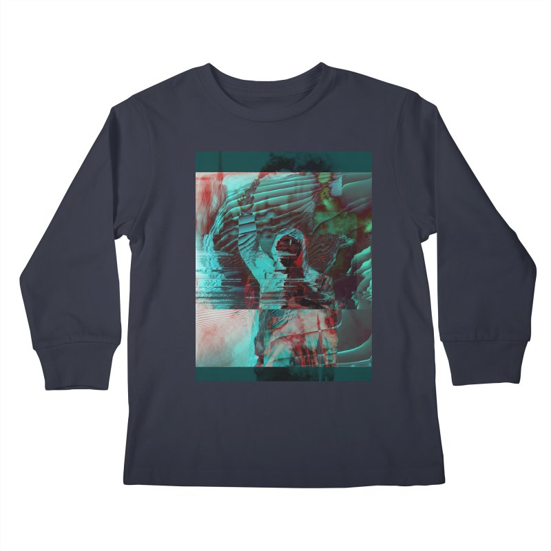 Revolutionary Saint Kids Longsleeve T-Shirt by radesigns's Artist Shop