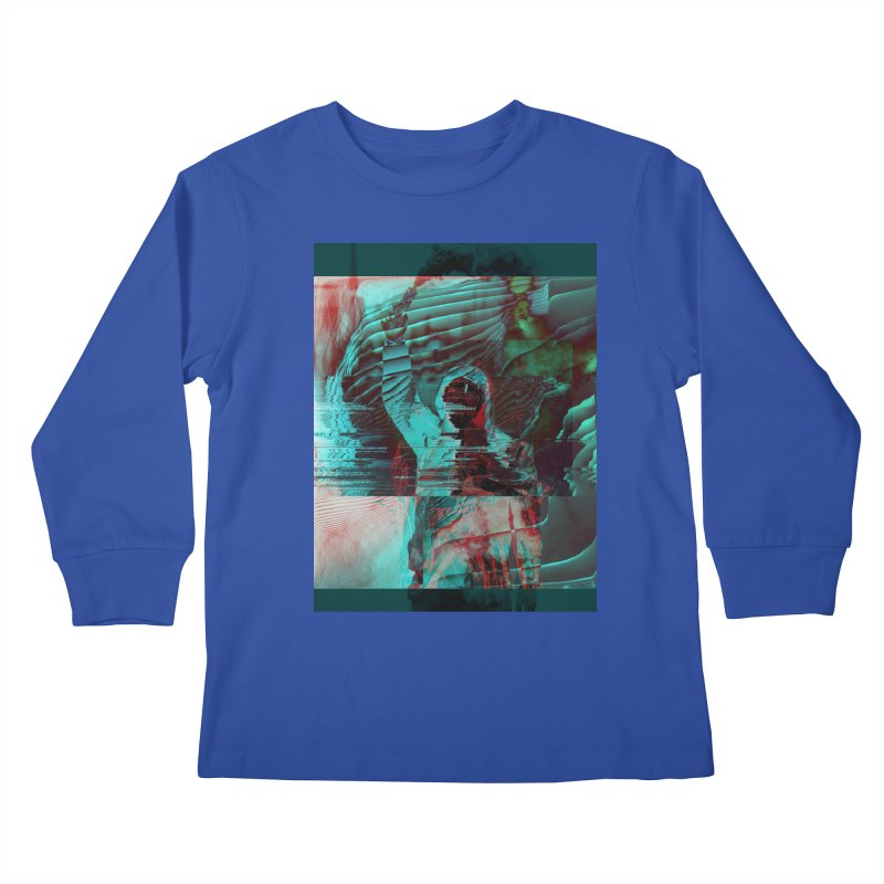 Revolutionary Saint Kids Longsleeve T-Shirt by radesigns's Artist Shop