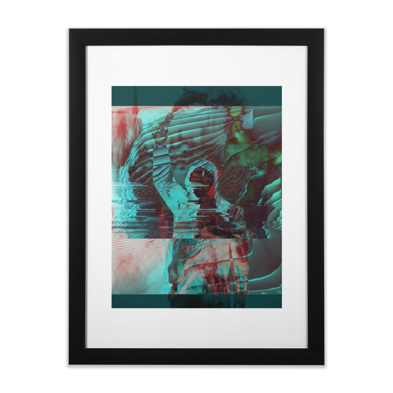 Revolutionary Saint Home Framed Fine Art Print by radesigns's Artist Shop