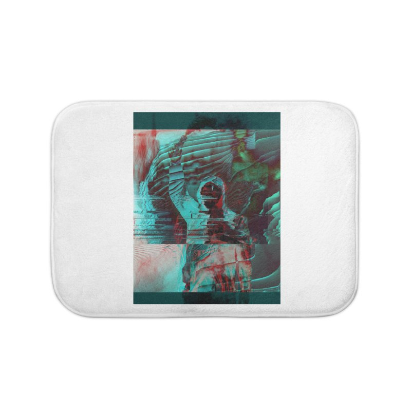 Revolutionary Saint Home Bath Mat by radesigns's Artist Shop