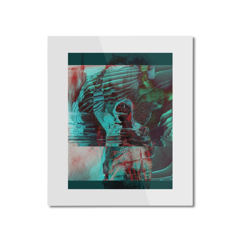 Revolutionary Saint Home Mounted Aluminum Print by R-A Designs -  Artist Shop