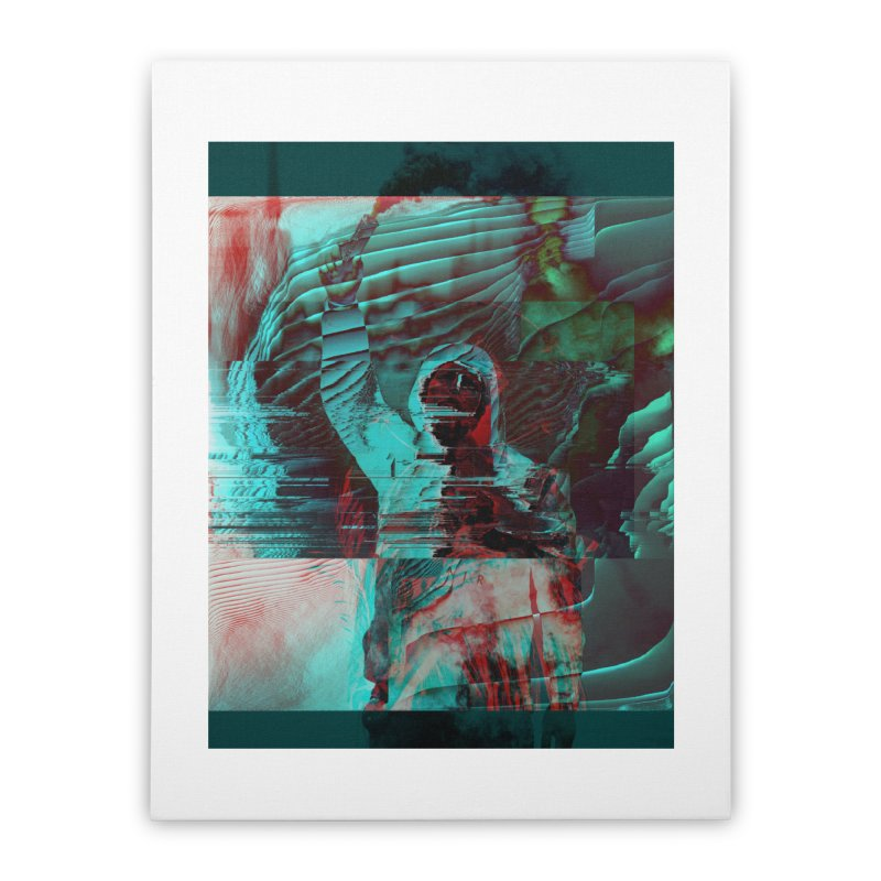 Revolutionary Saint Home Stretched Canvas by radesigns's Artist Shop