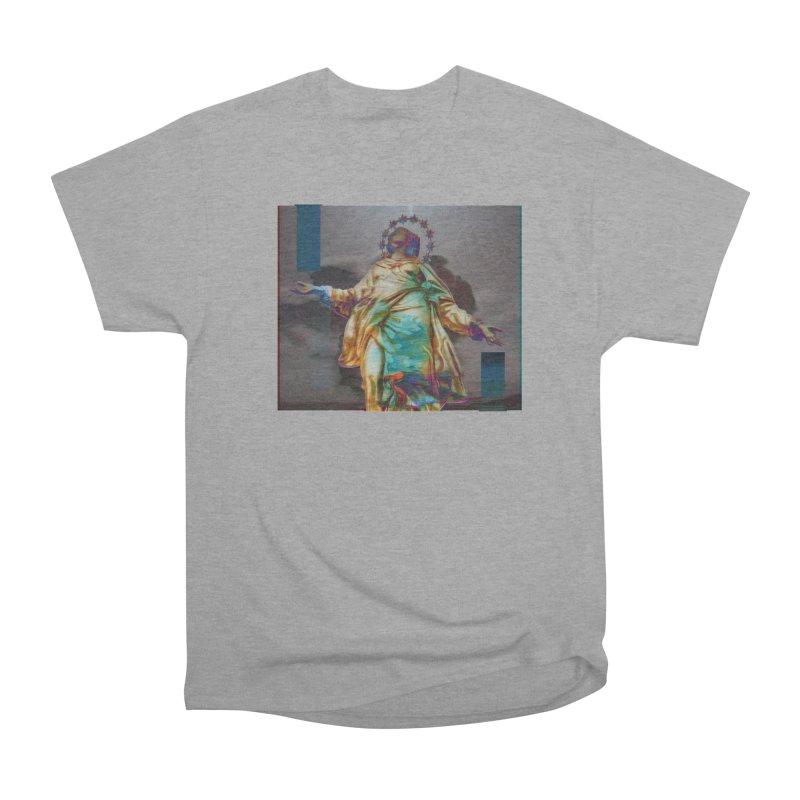 Virgen II Men's Heavyweight T-Shirt by radesigns's Artist Shop