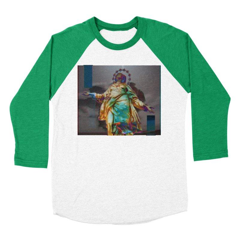 Virgen II Men's Baseball Triblend Longsleeve T-Shirt by radesigns's Artist Shop