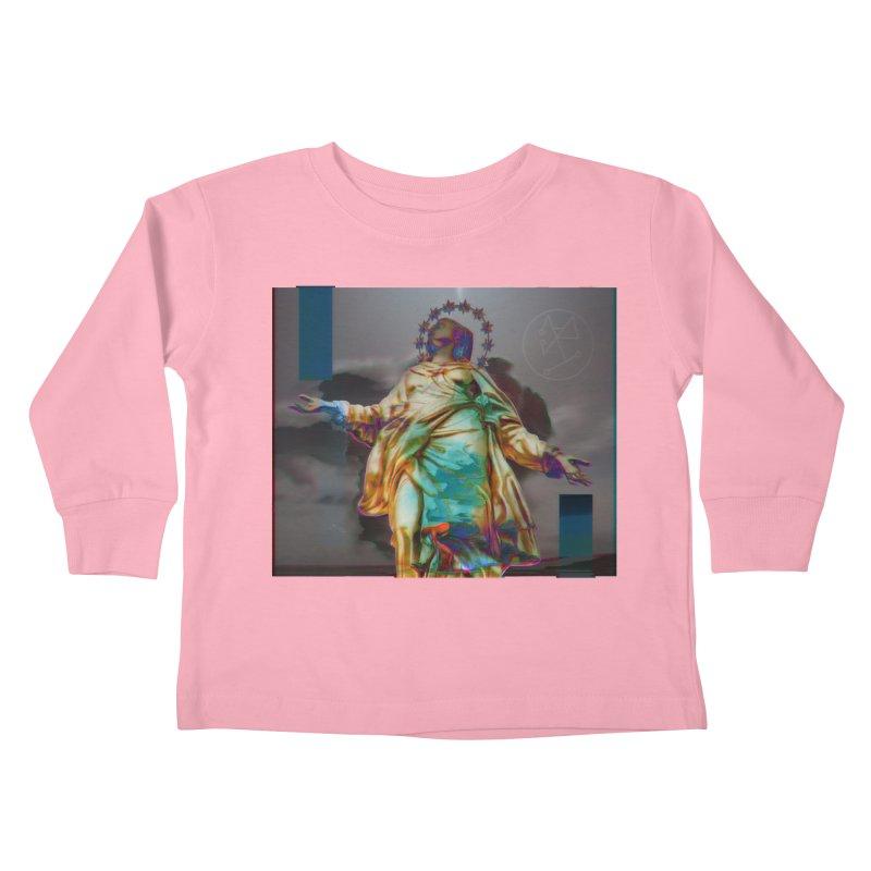 Virgen II Kids Toddler Longsleeve T-Shirt by radesigns's Artist Shop