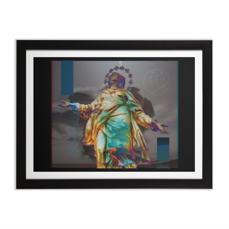 Virgen II Home Framed Fine Art Print by radesigns's Artist Shop