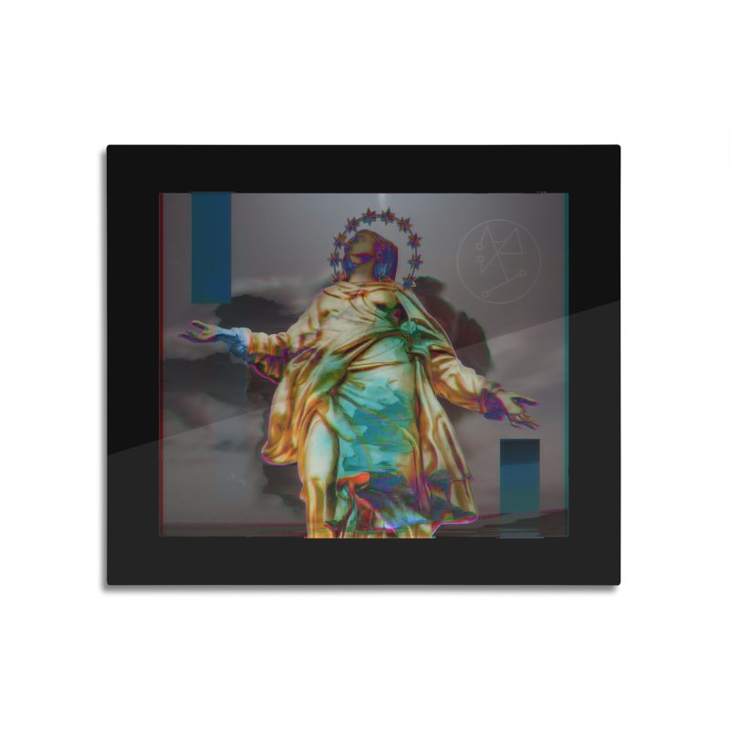 Virgen II Home Mounted Aluminum Print by R-A Designs -  Artist Shop