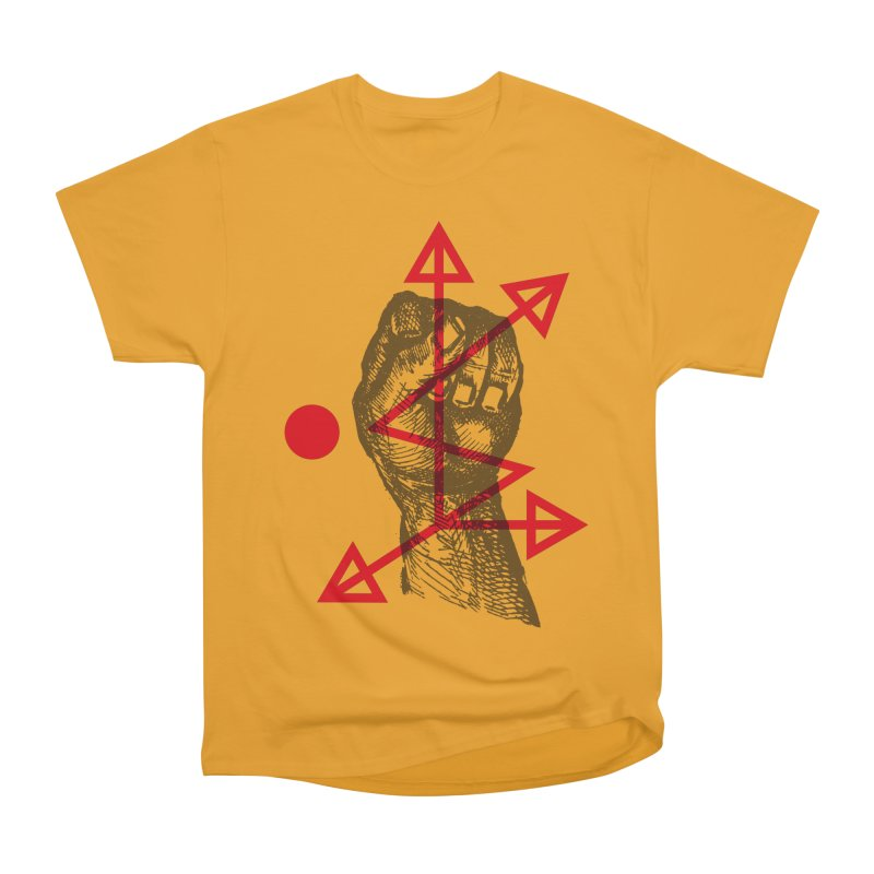 DKMU - Resistance against consensual reality Men's Heavyweight T-Shirt by radesigns's Artist Shop