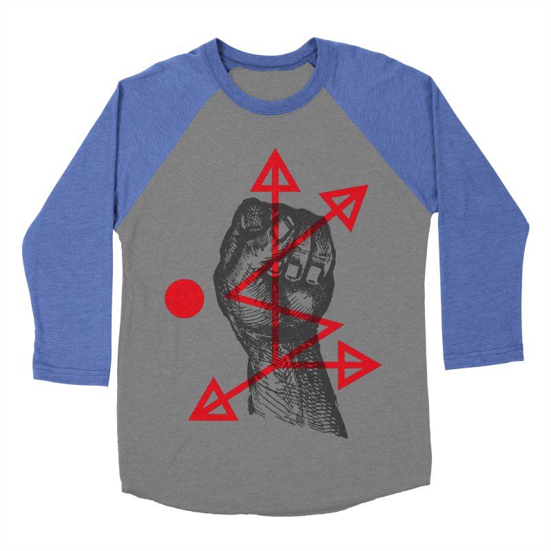 DKMU - Resistance against consensual reality Men's Baseball Triblend Longsleeve T-Shirt by radesigns's Artist Shop