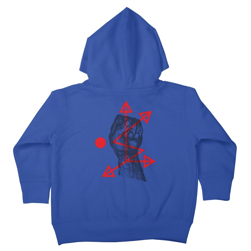 DKMU - Resistance against consensual reality Kids Toddler Zip-Up Hoody by radesigns's Artist Shop