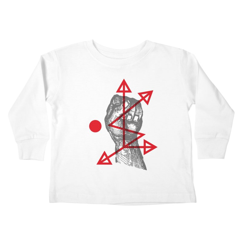 DKMU - Resistance against consensual reality Kids Toddler Longsleeve T-Shirt by R-A Designs -  Artist Shop