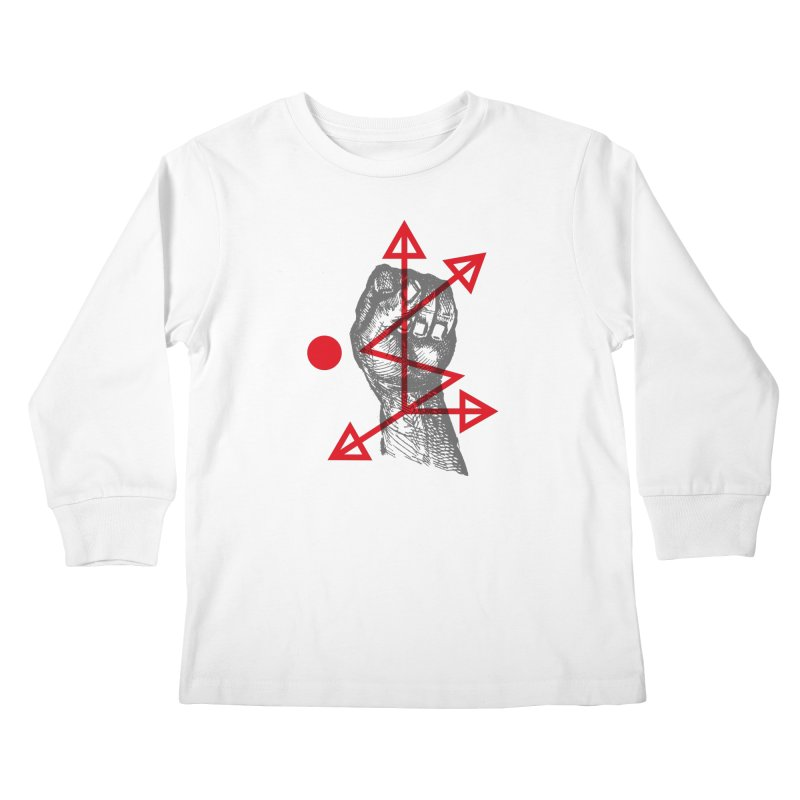 DKMU - Resistance against consensual reality Kids Longsleeve T-Shirt by R-A Designs -  Artist Shop