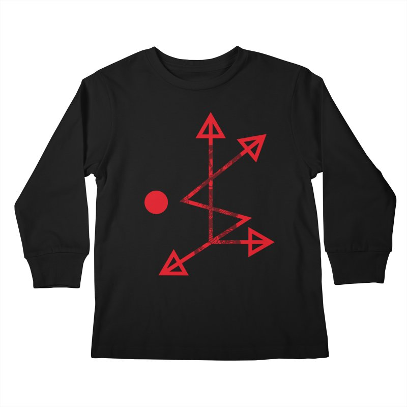 DKMU - Resistance against consensual reality Kids Longsleeve T-Shirt by radesigns's Artist Shop