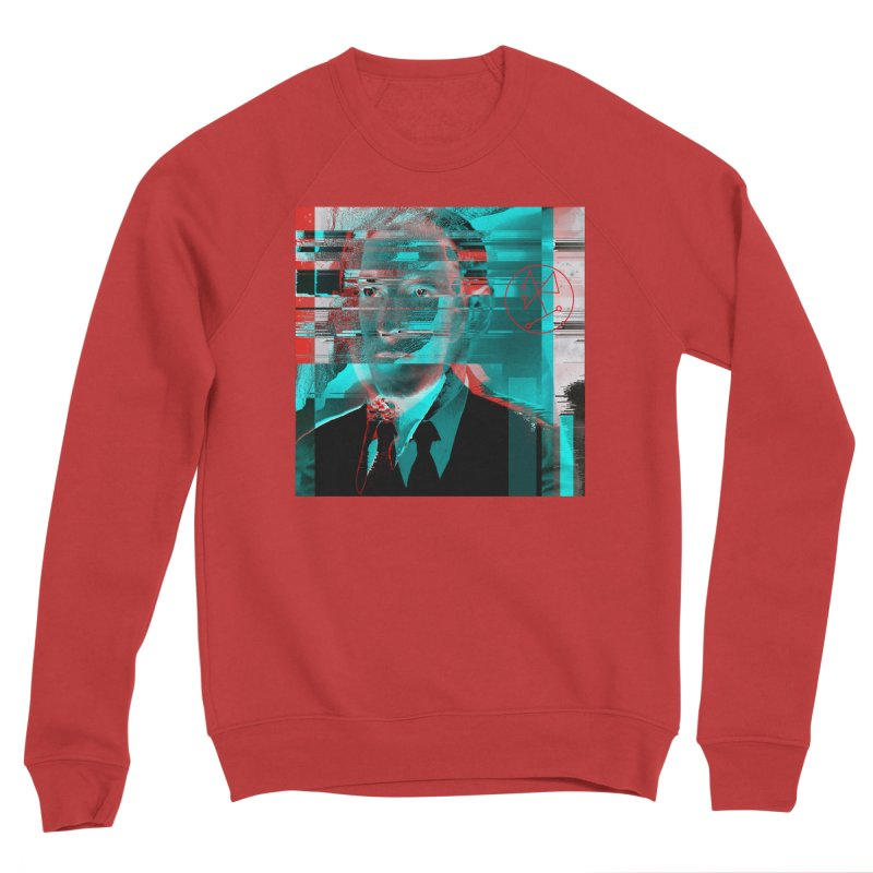 HPL Glitch Men's Sponge Fleece Sweatshirt by R-A Designs -  Artist Shop