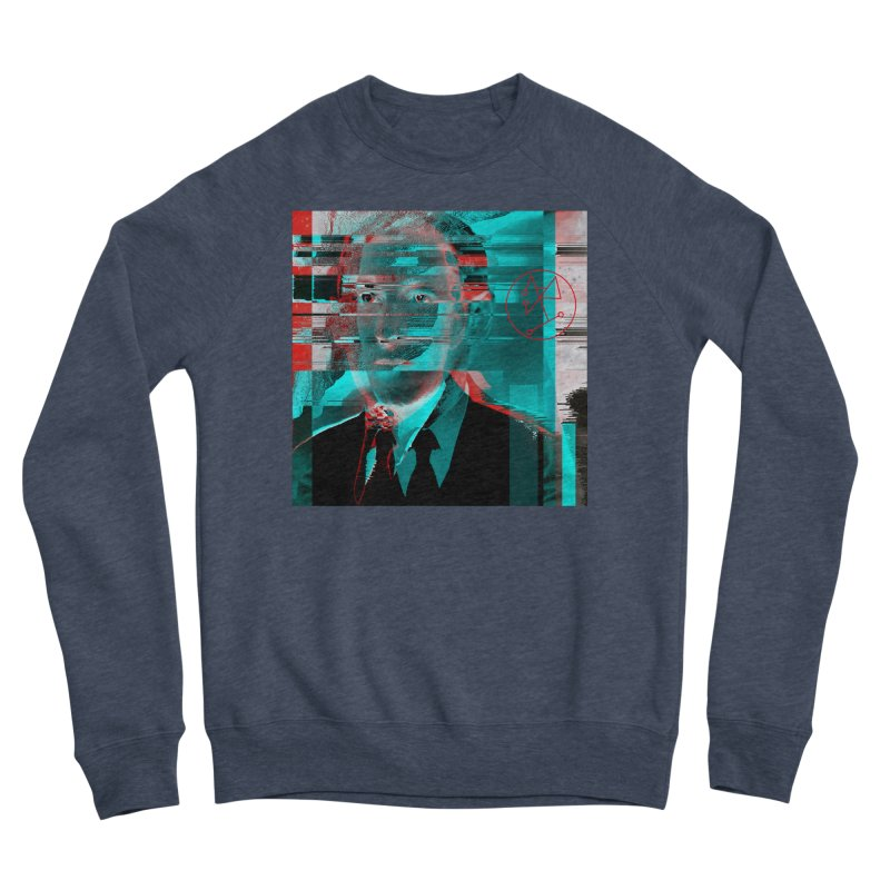 HPL Glitch Men's Sponge Fleece Sweatshirt by radesigns's Artist Shop