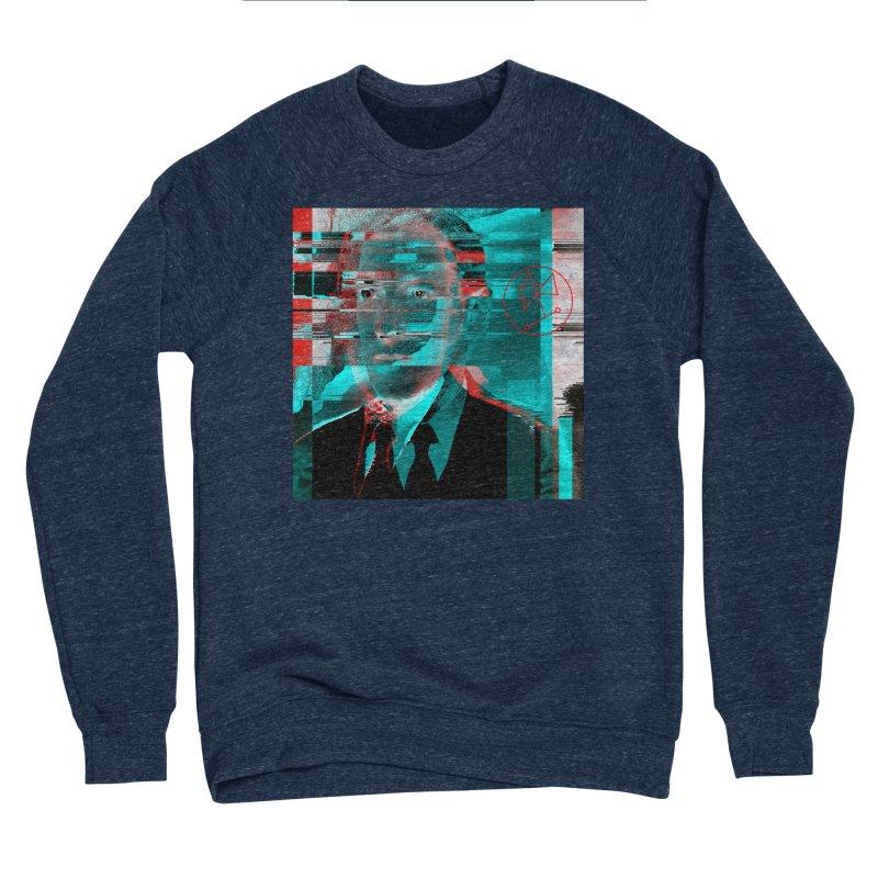 HPL Glitch Men's Sponge Fleece Sweatshirt by radesigns's Artist Shop