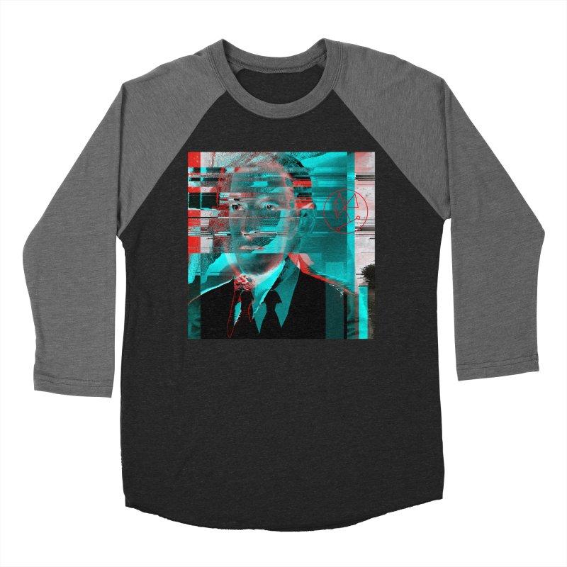 HPL Glitch Men's Baseball Triblend Longsleeve T-Shirt by R-A Designs -  Artist Shop