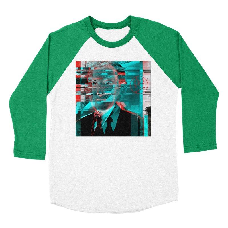 HPL Glitch Men's Baseball Triblend Longsleeve T-Shirt by radesigns's Artist Shop