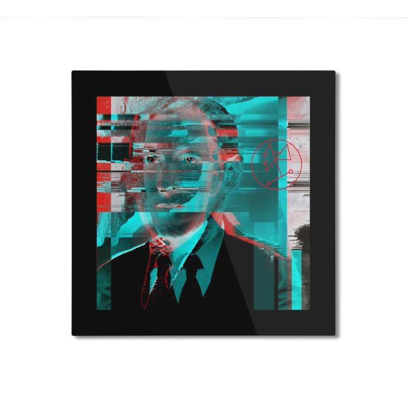 HPL Glitch Home Mounted Aluminum Print by R-A Designs -  Artist Shop