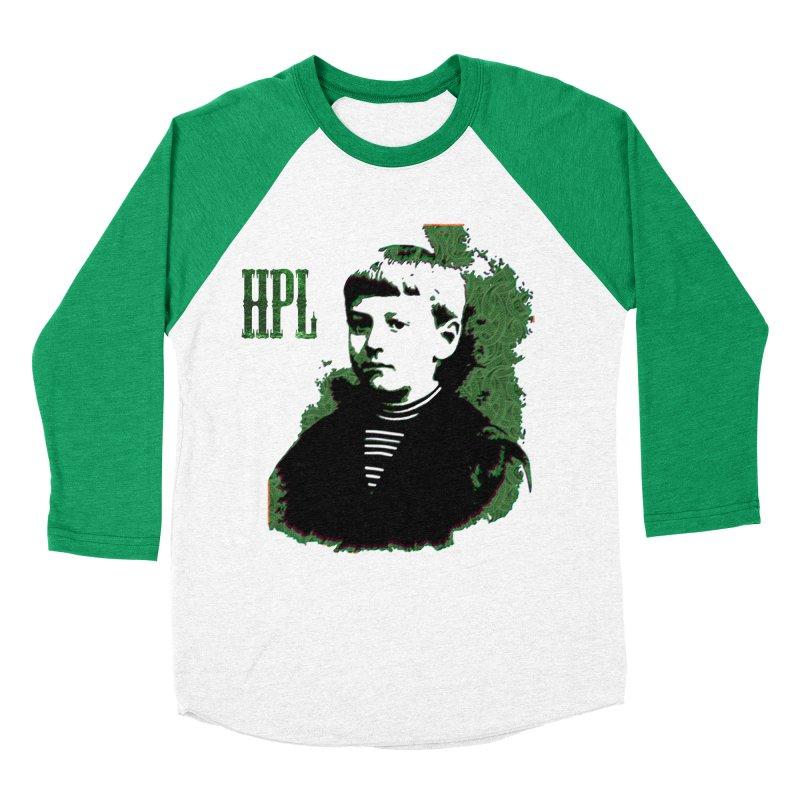 Young HPL Men's Baseball Triblend Longsleeve T-Shirt by radesigns's Artist Shop