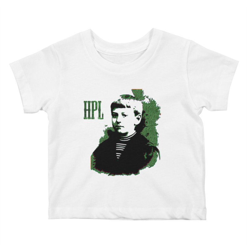 Young HPL Kids Baby T-Shirt by radesigns's Artist Shop