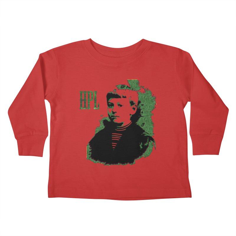 Young HPL Kids Toddler Longsleeve T-Shirt by radesigns's Artist Shop