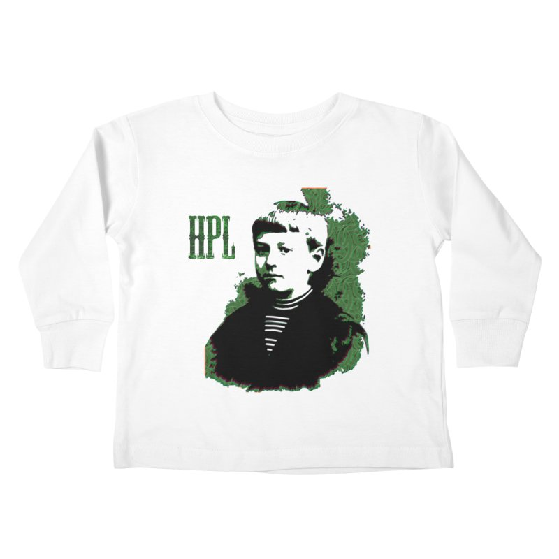 Young HPL Kids Toddler Longsleeve T-Shirt by radesigns's Artist Shop