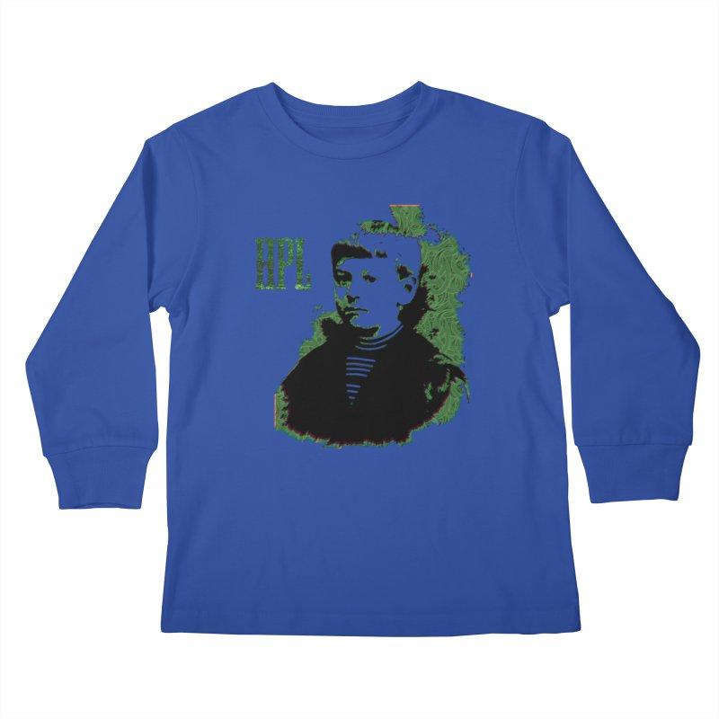 Young HPL Kids Longsleeve T-Shirt by radesigns's Artist Shop