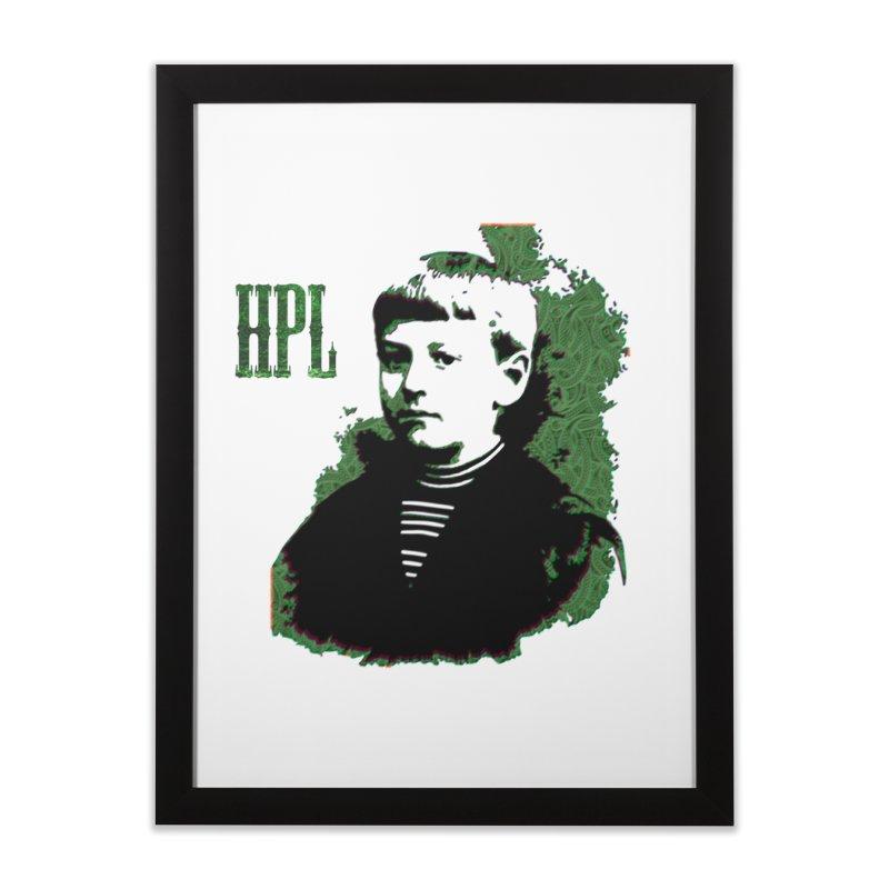 Young HPL Home Framed Fine Art Print by radesigns's Artist Shop