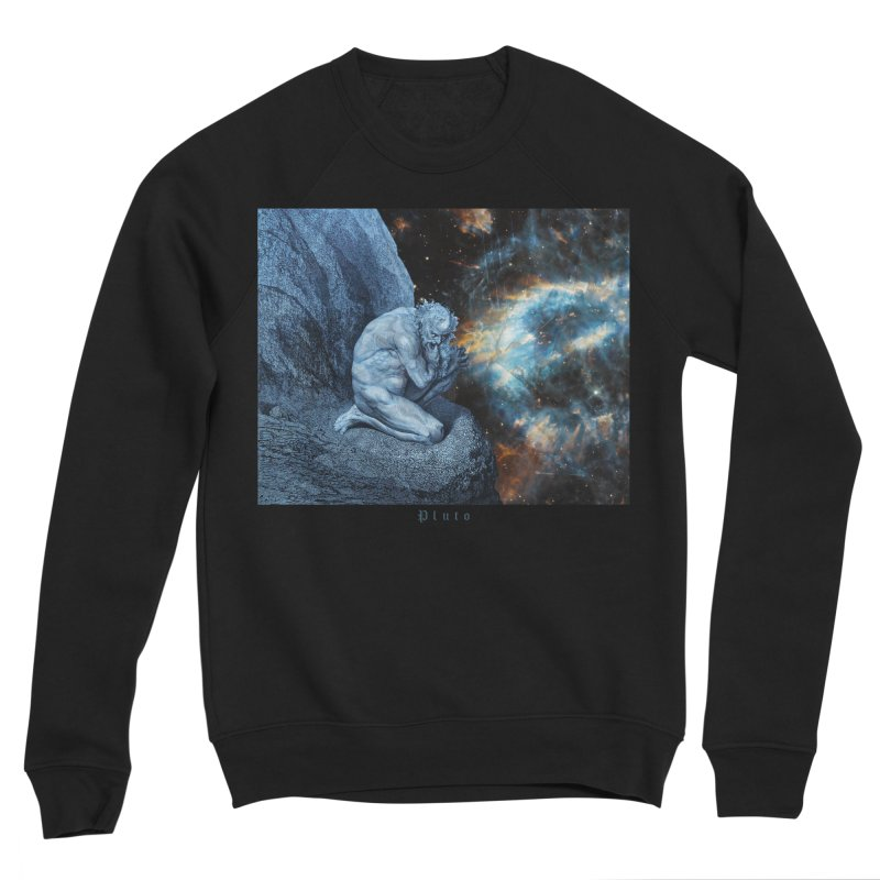 Pluto - Canto VII Men's Sponge Fleece Sweatshirt by R-A Designs -  Artist Shop