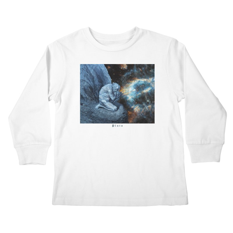 Pluto - Canto VII Kids Longsleeve T-Shirt by R-A Designs -  Artist Shop