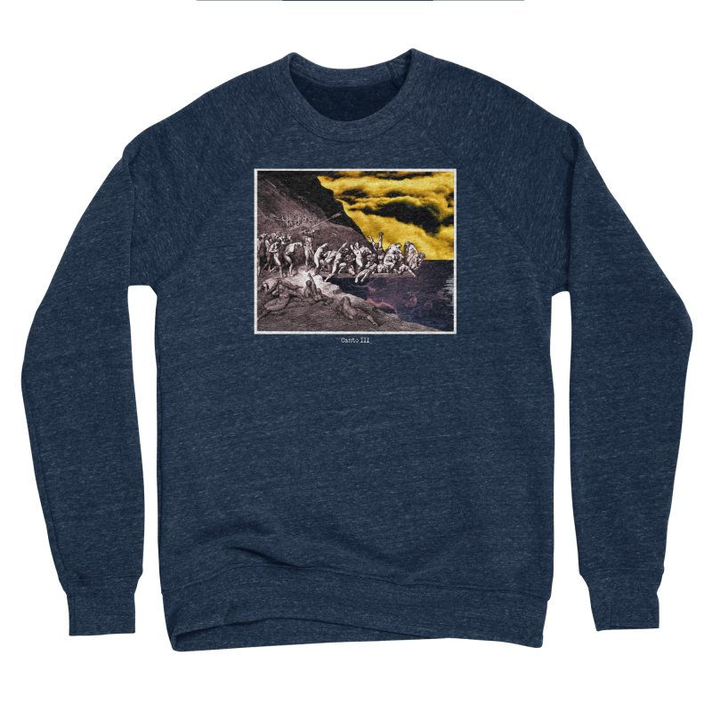 Canto III Men's Sponge Fleece Sweatshirt by R-A Designs -  Artist Shop