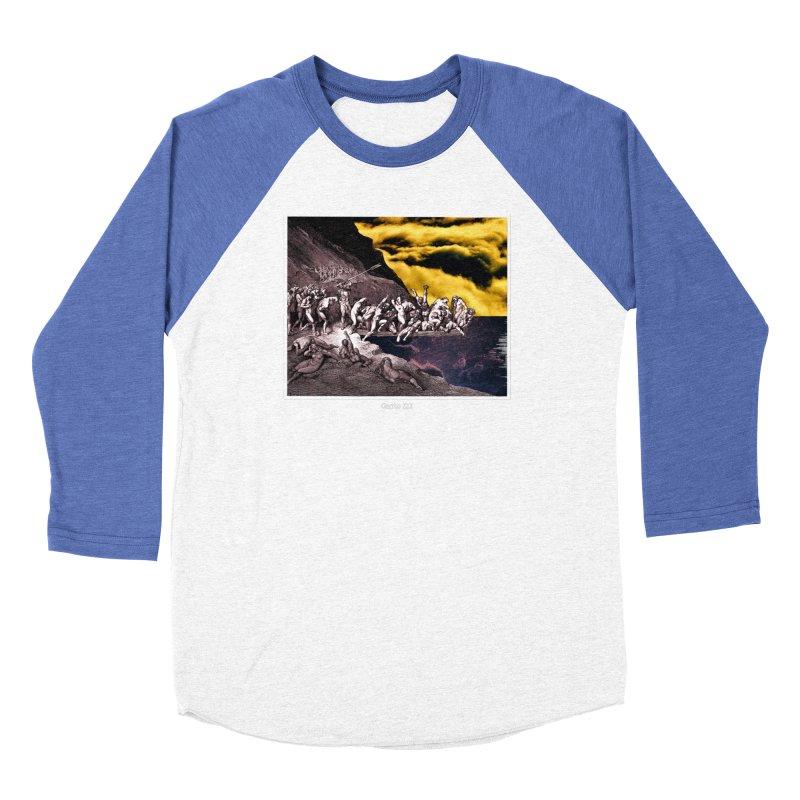 Canto III Men's Baseball Triblend Longsleeve T-Shirt by R-A Designs -  Artist Shop