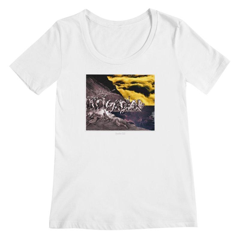 Canto III Women's Regular Scoop Neck by R-A Designs -  Artist Shop