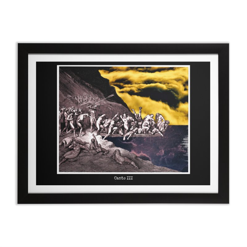 Canto III Home Framed Fine Art Print by R-A Designs -  Artist Shop