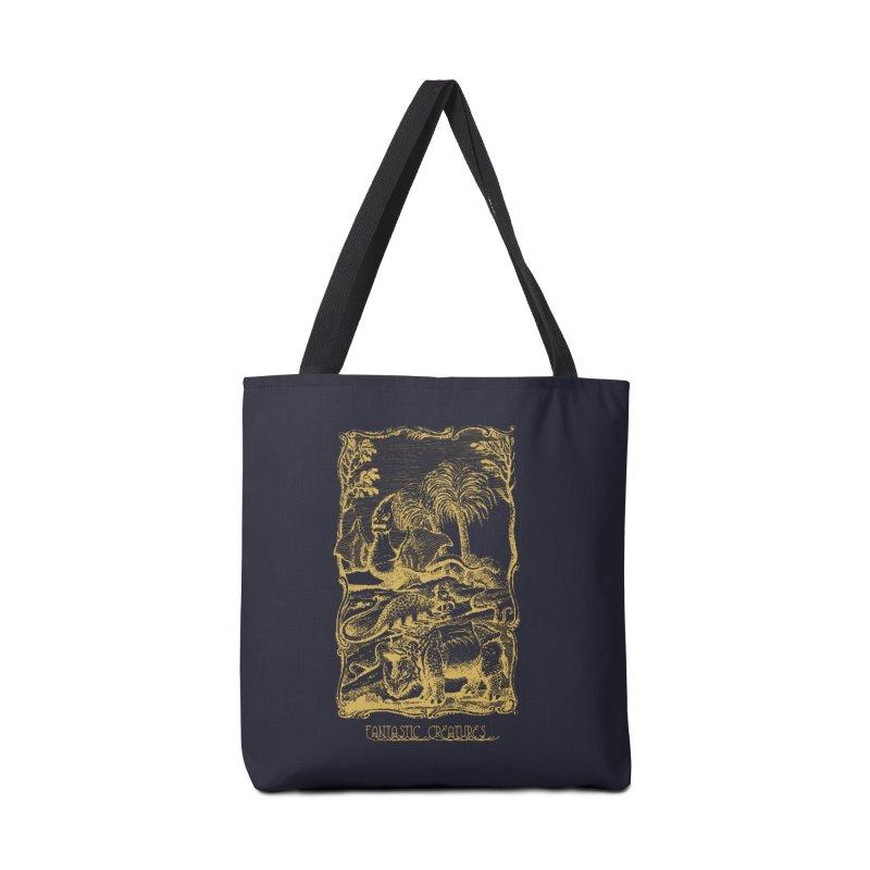 Vintage Fantastic Creatures Accessories Tote Bag Bag by R-A Designs -  Artist Shop